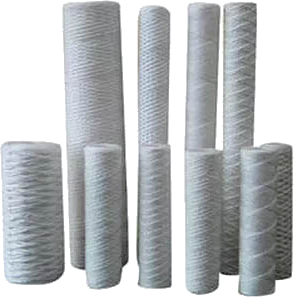 Bleached Cotton String Wound Filters